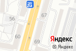 Схема проезда до компании МИЛАНО в Омске