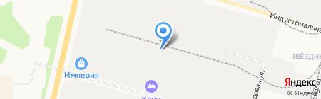 Экспроф на карте Сургута