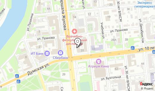С-Климат. Схема проезда в Омске