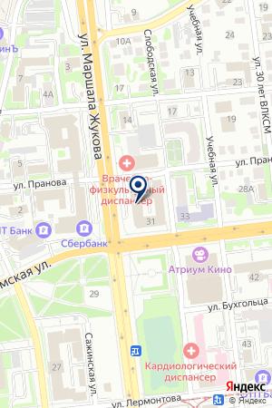 ПРОИЗВОДСТВЕННАЯ ФИРМА КАЛАЧИНСКИЙ МОЛОЧНЫЙ КОМБИНАТ на карте Омска
