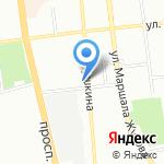 Стоматологическая клиника на карте Омска