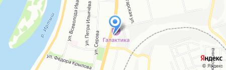 Джет Мани на карте Омска