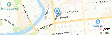 Приоритет-Сервис на карте Омска