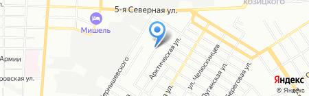 АС на карте Омска