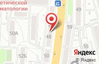 Схема проезда до компании Смтел в Омске