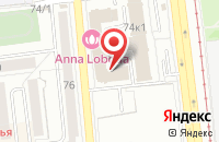 Схема проезда до компании Центр Авто в Омске