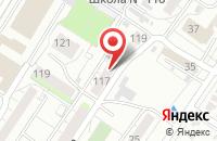 Схема проезда до компании Престиж Телеком в Омске