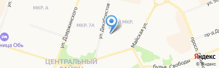 Кармен на карте Сургута