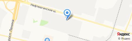 У Семёныча на карте Сургута