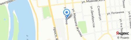 Apple Travels на карте Омска