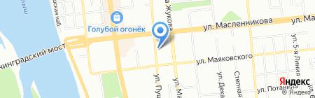 Бари-Нова на карте Омска