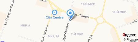 Дрова на карте Сургута