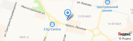 Отдел №12 на карте Сургута