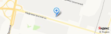 Наша Дача на карте Сургута