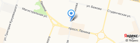 IL Патио на карте Сургута