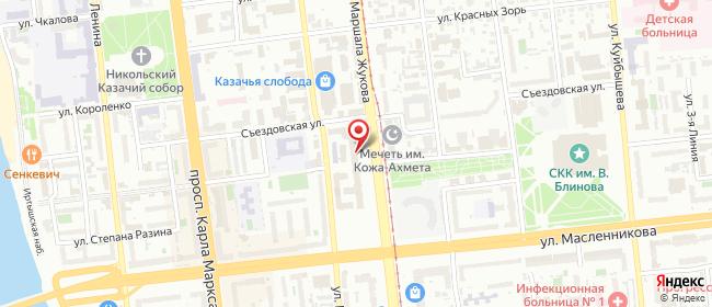 Карта расположения пункта доставки 220 вольт в городе Омск