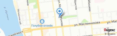 Агростройкомплект на карте Омска