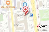 Схема проезда до компании Ава-Кадо Медиа Групп в Омске