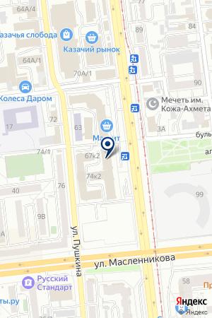 ПРОИЗВОДСТВЕННАЯ ФИРМА ГУСЕВ Г.Г. на карте Омска