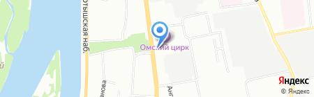 Софита на карте Омска