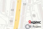 Схема проезда до компании Банкомат, Кредит Европа банк в Омске