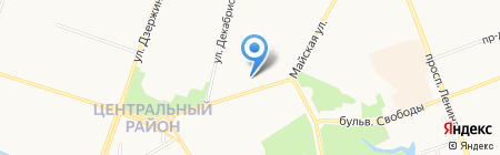 Кутюрье на карте Сургута