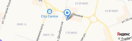 Архивный отдел на карте Сургута