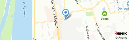 Сигма на карте Омска