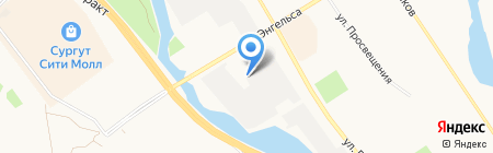 Bitstop на карте Сургута