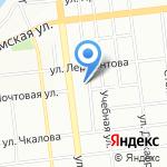 АЛЬЯНС 55 на карте Омска