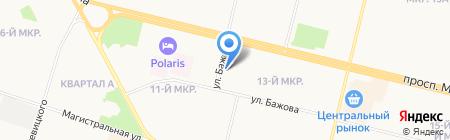 Ника-фарм на карте Сургута
