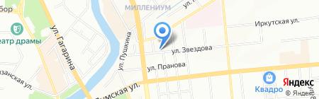 BEEVID на карте Омска
