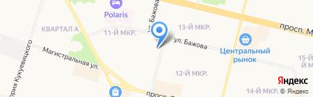 Модные Сыночки Дочки на карте Сургута