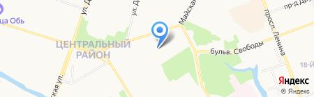 Детский сад №24 на карте Сургута