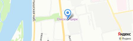 Эрудит на карте Омска