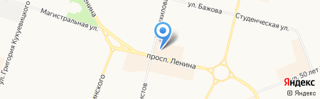 МегаФон на карте Сургута