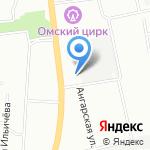 Мир подставок на карте Омска