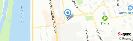 Аврал Риэлт на карте Омска