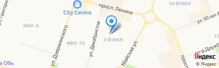 Гимназия №2 на карте Сургута