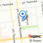 Горячий лаваш на карте Омска