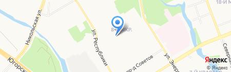 Центр детского творчества на карте Сургута