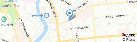 ИнвестСтрой-К на карте Омска