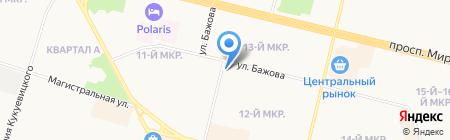 Статус на карте Сургута