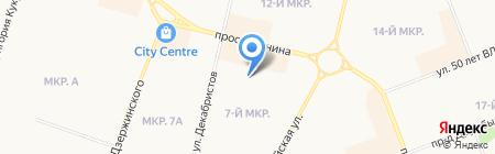 Детский сад №71 на карте Сургута