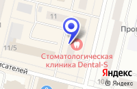 Схема проезда до компании САЛОН СВЕТИЛЬНИКИ в Сургуте