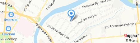 ДизельЭнергоСервис на карте Омска