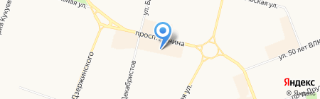 Gold hair на карте Сургута