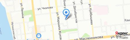 Школа искусного шитья от Виноградовой на карте Омска
