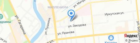 Центральный-5 на карте Омска