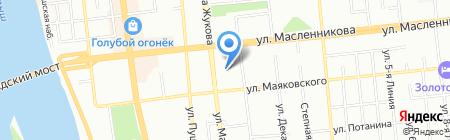 КЕРАМА-Омск на карте Омска